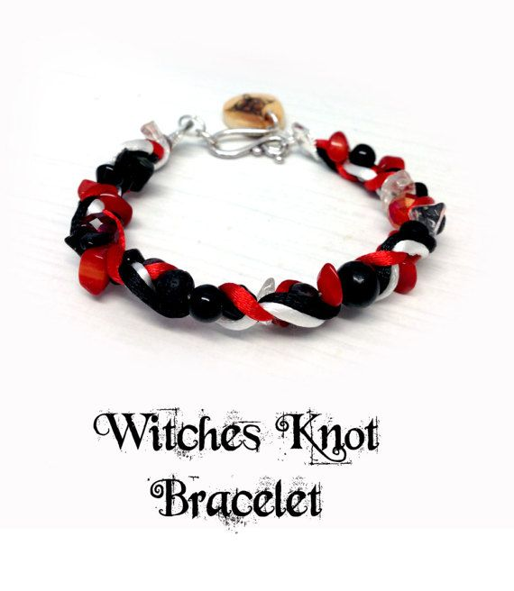 Witches Knot Bracelet pagan charm spell witch by