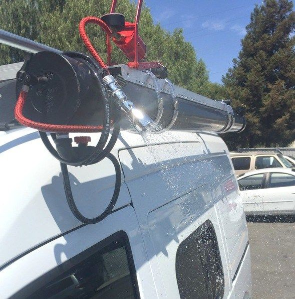 Solar Hot Water System With Images Camping Shower