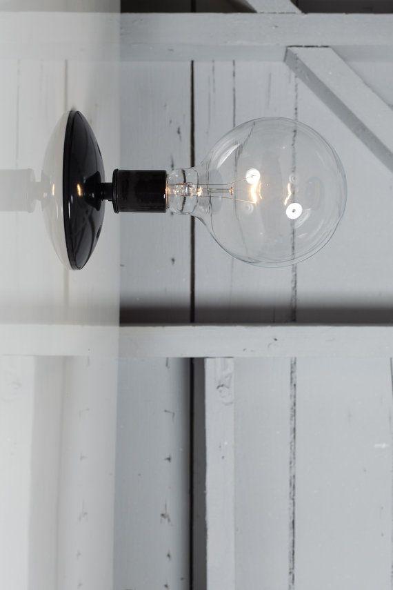 lumi re applique murale industrielle georges pinterest appliques murales appliques et. Black Bedroom Furniture Sets. Home Design Ideas