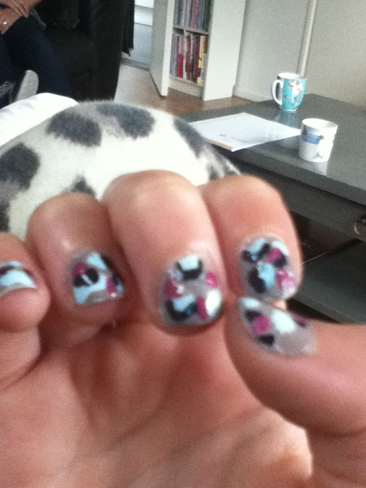 Panter nailart