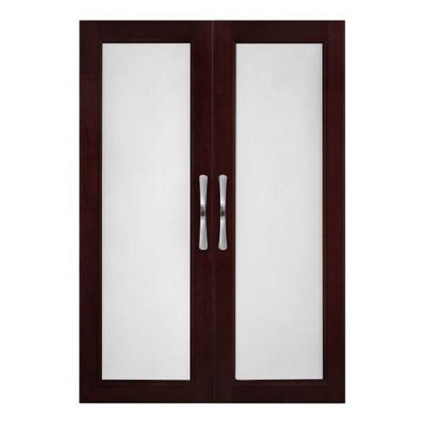 Bifold Closet Doors Espresso   Door Designs Plans. Frosted Glass Interior  ...