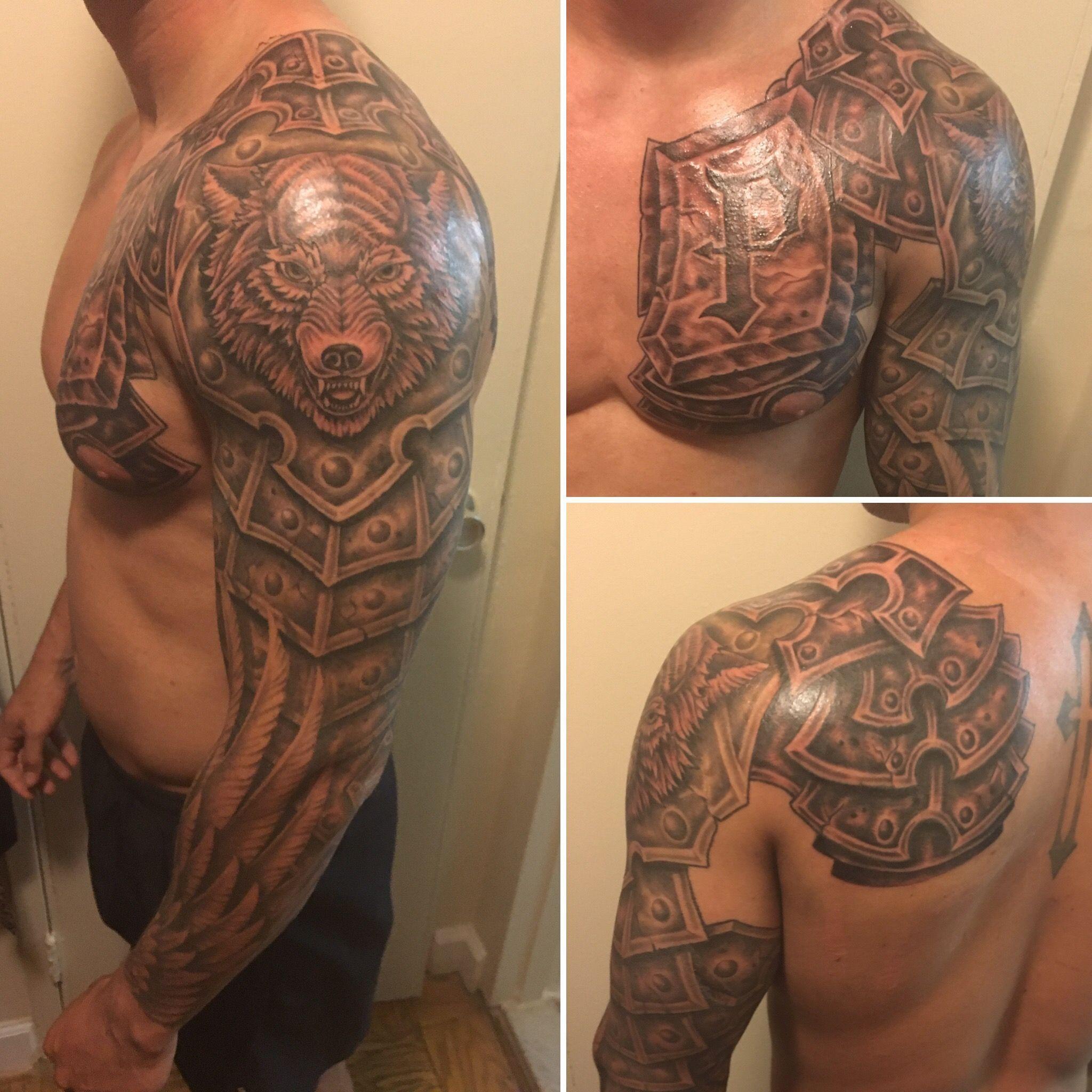 Samoantattoos Shoulder Armor Tattoo Armour Tattoo Armor Sleeve Tattoo