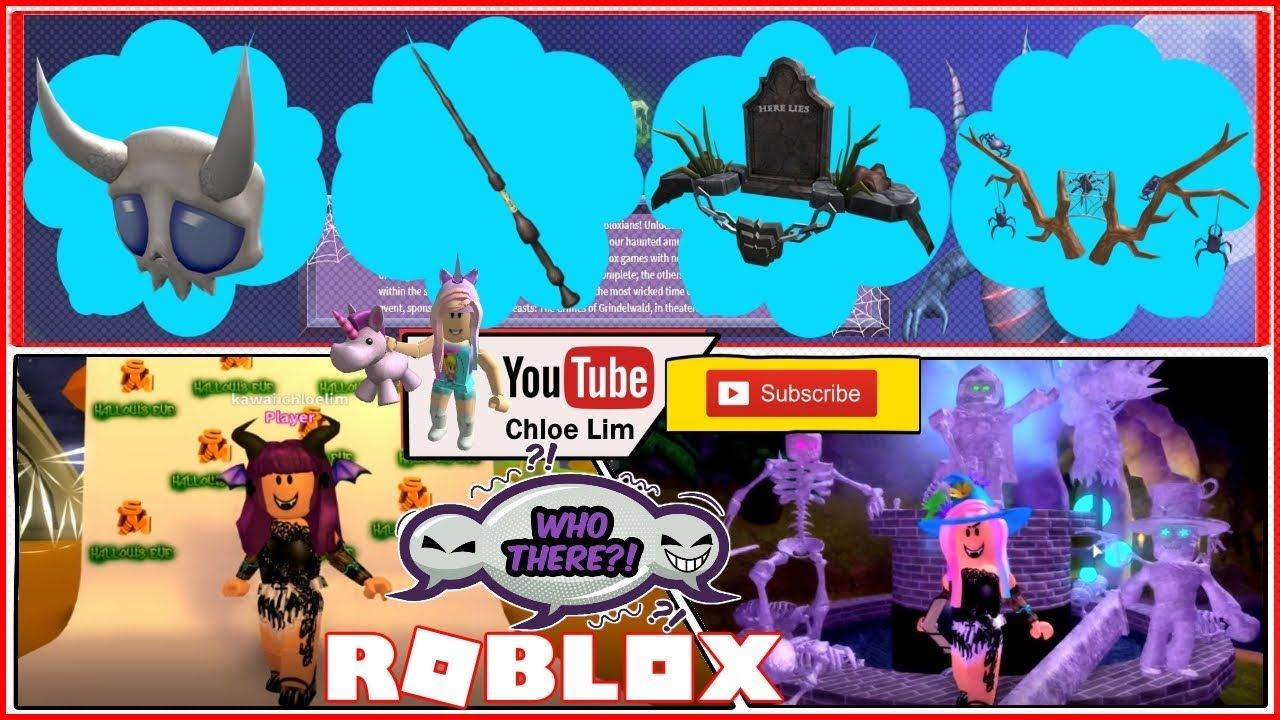 Codes In Roblox Treelands October 2019 Roblox Darkenmoor Hallow S Eve Event 2018 How To Get 4 Event Items Roblox Hallows Eve Jumpscare