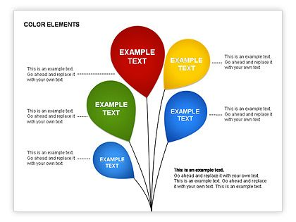 Free Color Elements Shapes Httppoweredtemplatepowerpoint