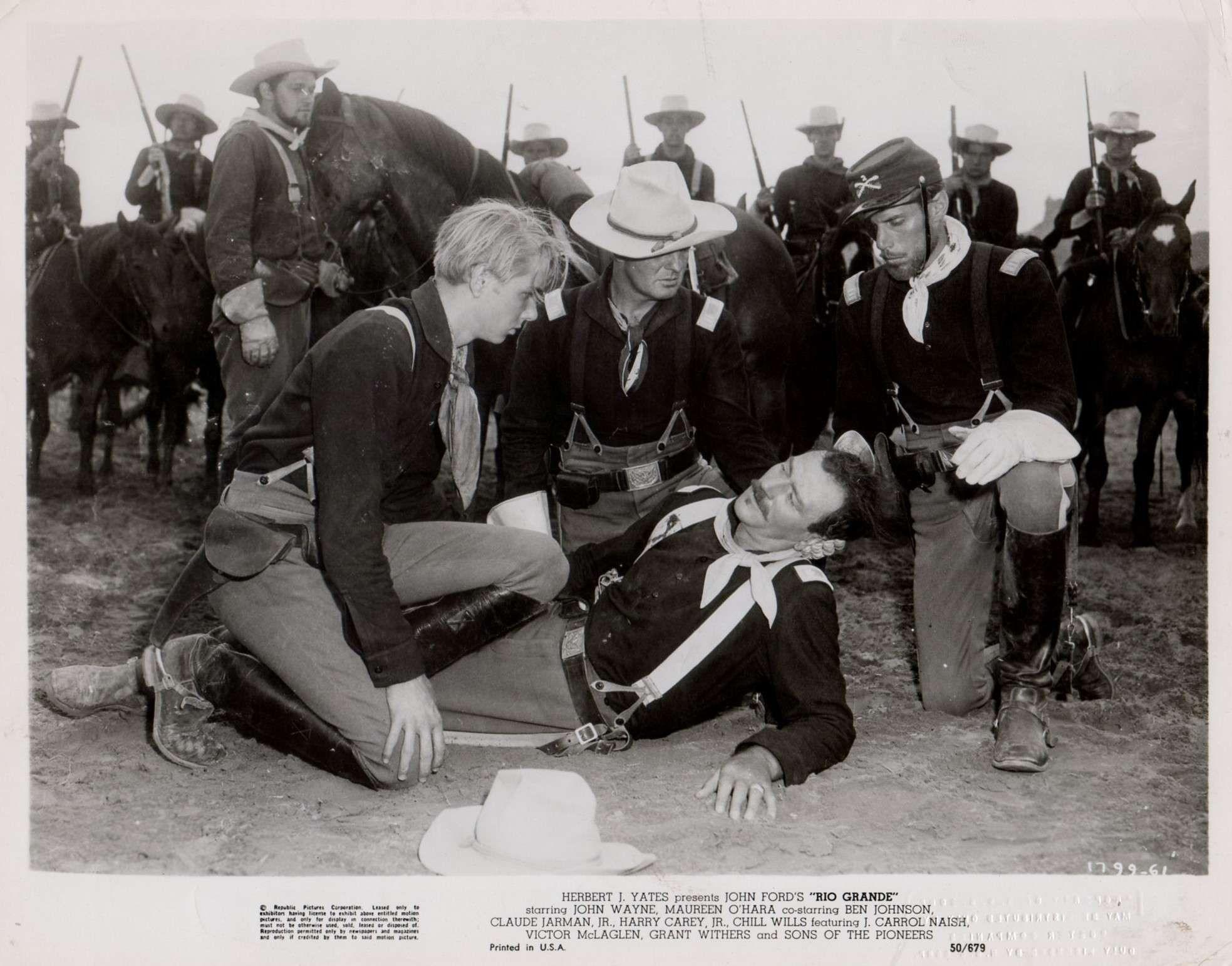 Rio Grande 1950 John Ford Western Movies Western Film John