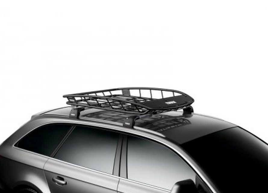 Thule Cargo Roof Basket Car Suv Luggage Box Storage Carrier Rack Travel Mount Cargo Carriers Roof Box Car