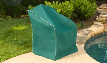 green patio chair covers minnie high our hunter cover from empire