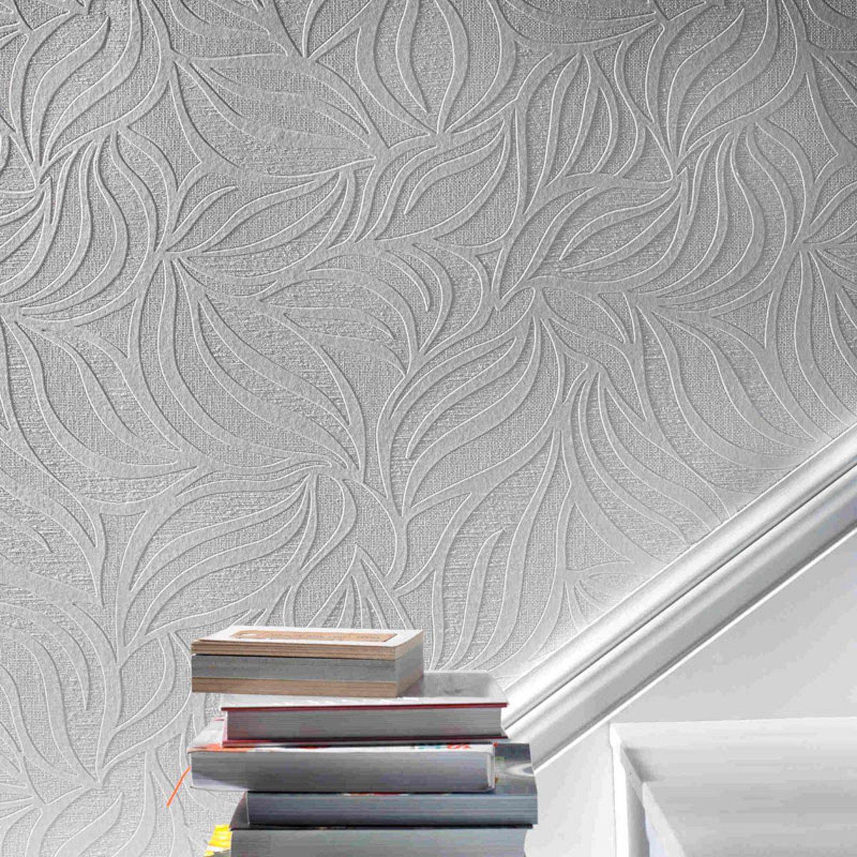 Eden Paintable Wallpaper Grandin Road
