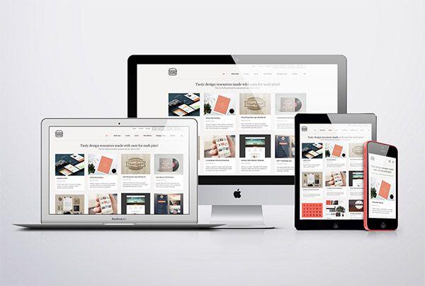15 Mockups To Showcase Your Responsive Web Designs Website Mockup Templates Responsive Screen Website Mockup