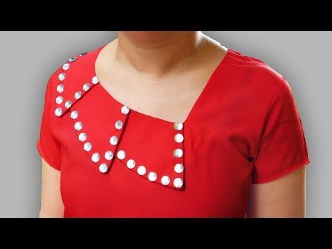 Origami Petal Sleeves Designs For Kurti Latest Sleeves Designs For Kameez Bst Youtube Kurta Neck Design Salwar Neck Designs Neck Designs For Suits