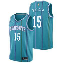 ae7c888bc1e Charlotte Hornets Jordan Classic Edition Swingman Jersey - Kemba Walker -  Mens   NBA
