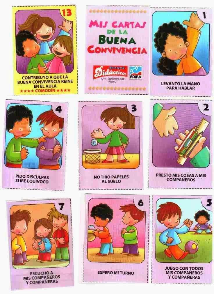 Normas De Convivencia En El Aula Imágenes Para Imprimir Acuerdos De Convivencia Escolar Actividades De Convivencia Normas De Convivencia