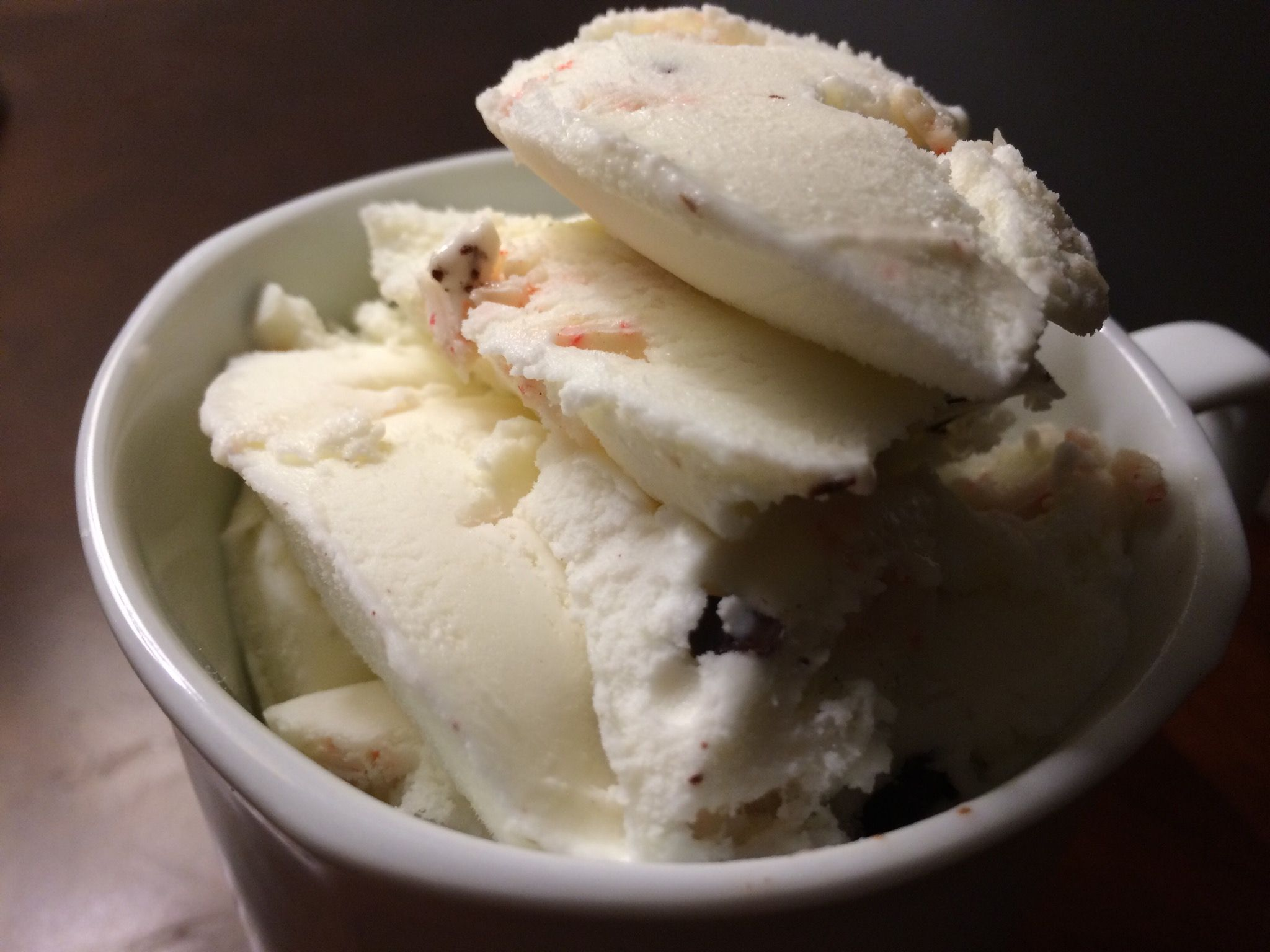 Blue bell peppermint bark ice cream peppermint bark