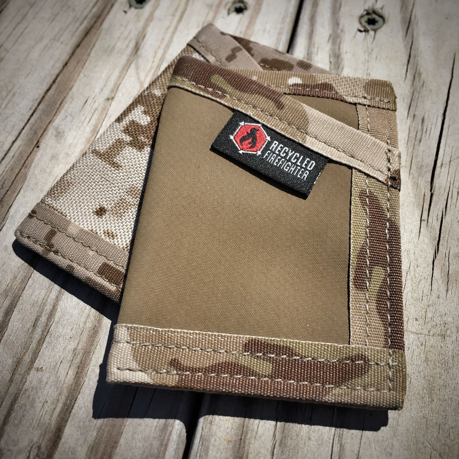 Hypalon Sergeant Wallet  Made from 18oz Synthetic rubber