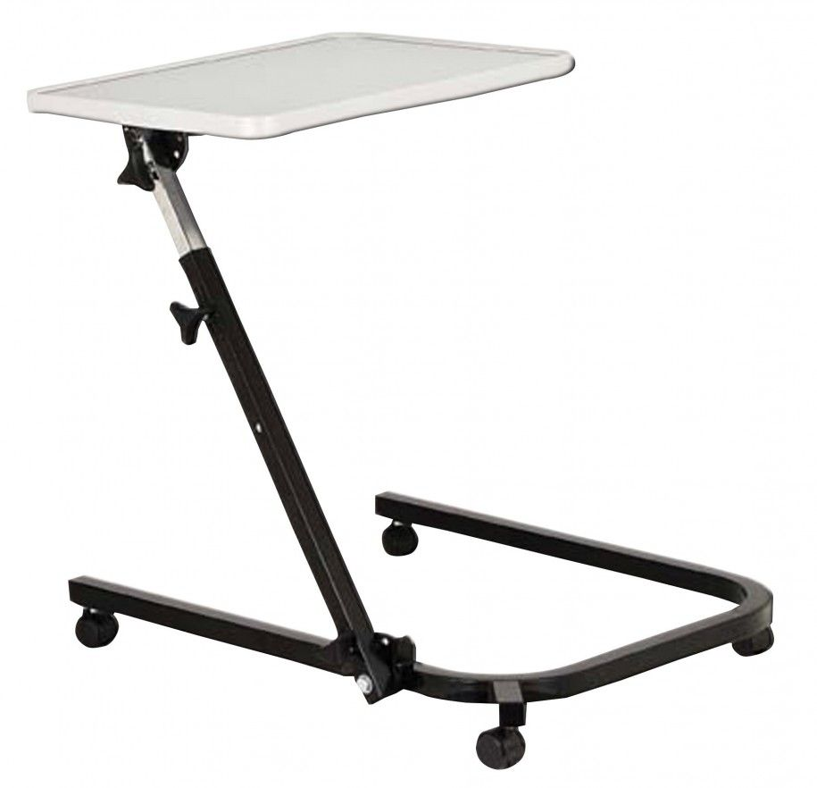 Grabbing The Best Bed Tables : Magnificent Office Tables With Wheels Portable  Tray Table