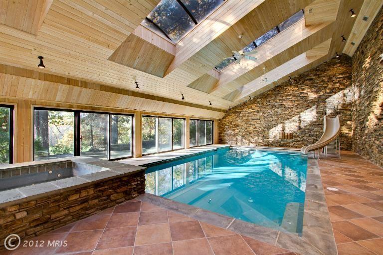 Indoor Pool Pool Houses Pool House Pool