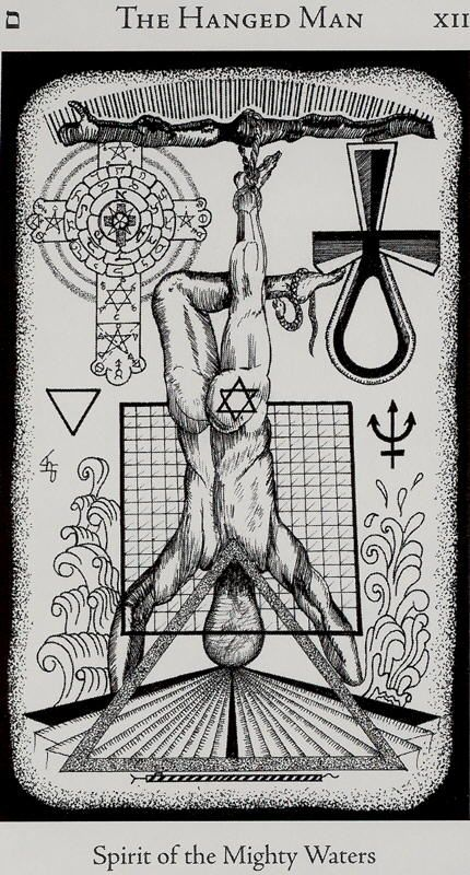Image result for hanged man XII tarot images