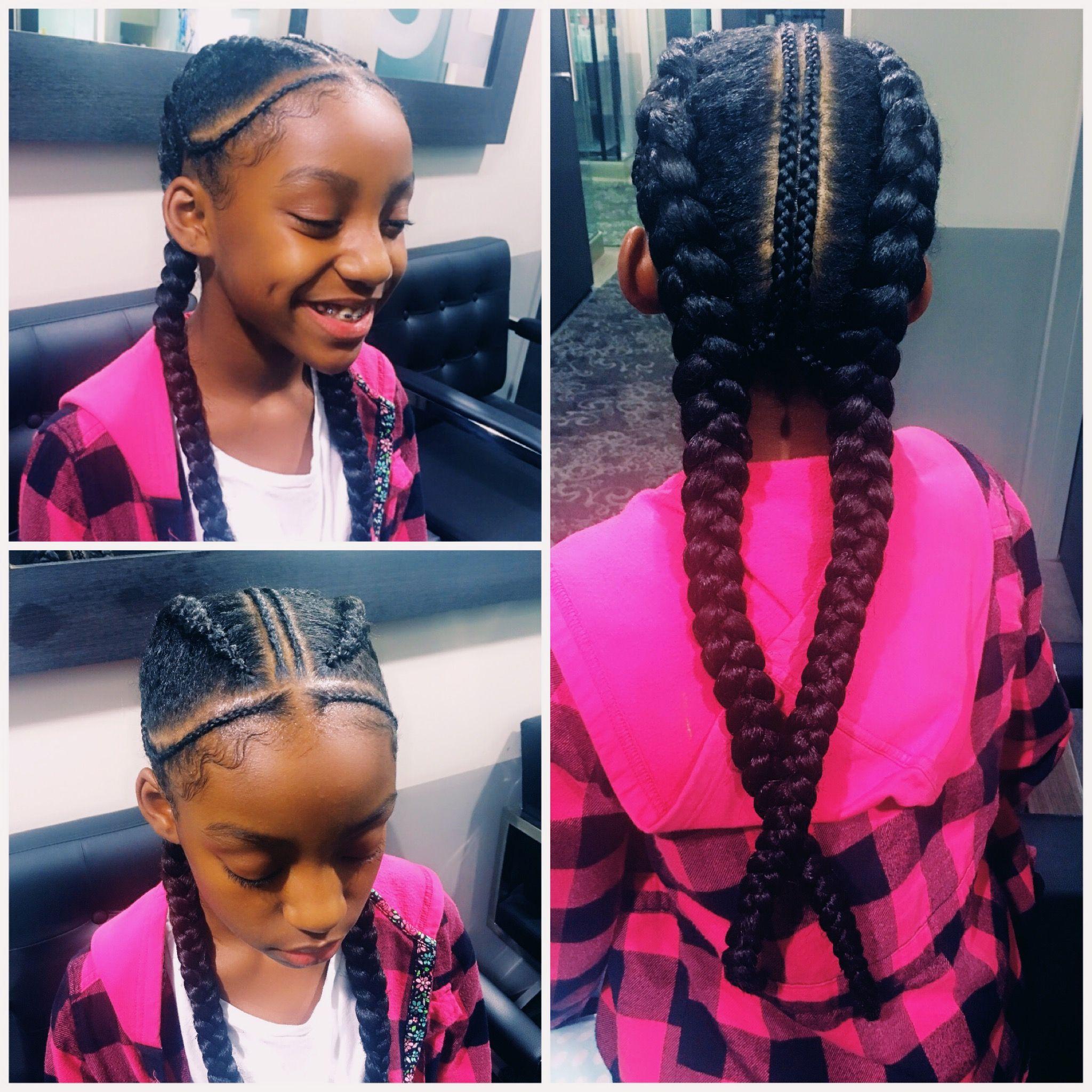 Kids Hairstyles Braids Cornrows Braided Styles Kids Hair Feeder Braids Feed Braids Kids Hairstyles Hair Styles Braid Styles