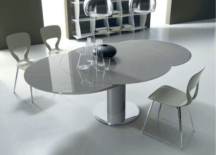 Neuestedekoration Com Round Dining Table Modern Modern Dining Table Extendable Dining Table
