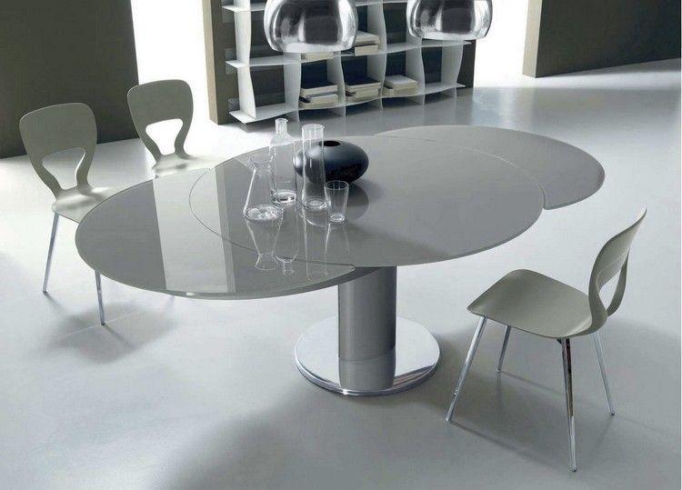 Dining Tables Modern Extendable Esstisch Rund Ausziehbar