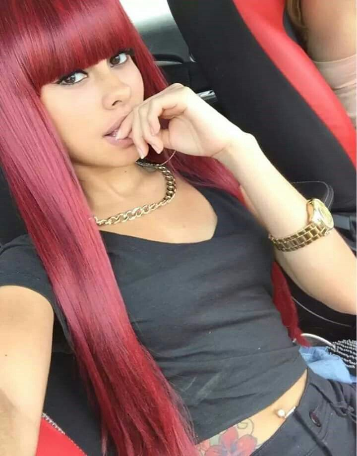 pin red hair color stylez