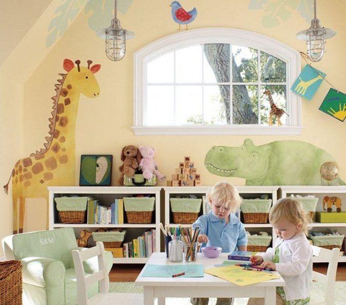 small playroom ideas | children-animal-playroom-kids-playroom