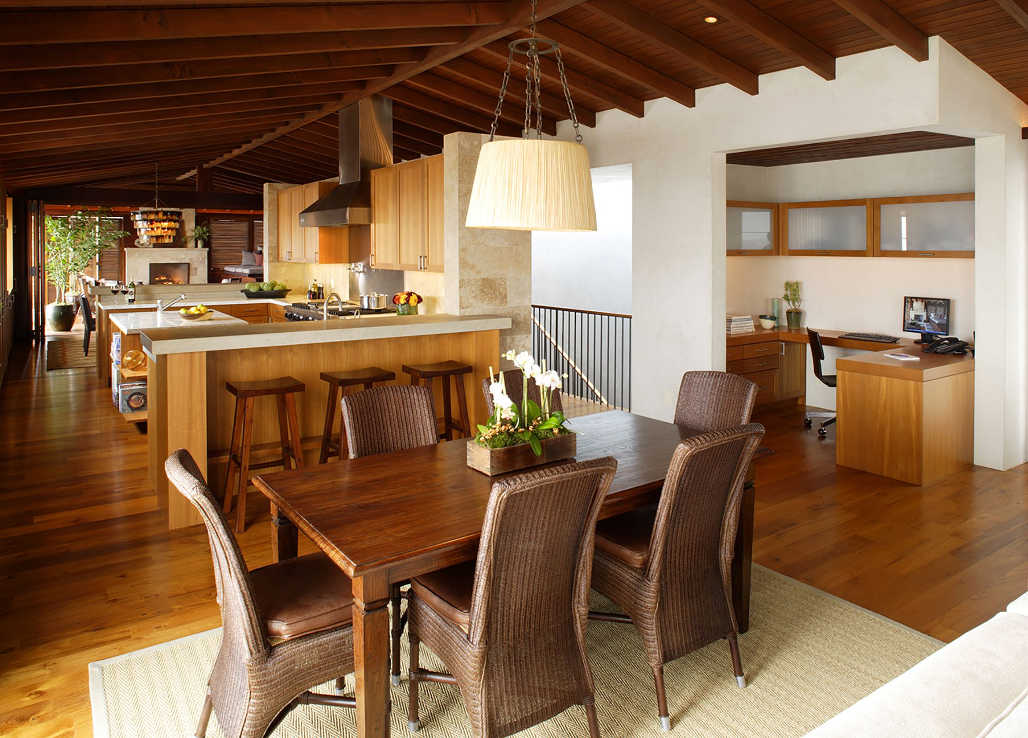 Floors Are Teak Casework May Also Be Teak Or Mahogany Or