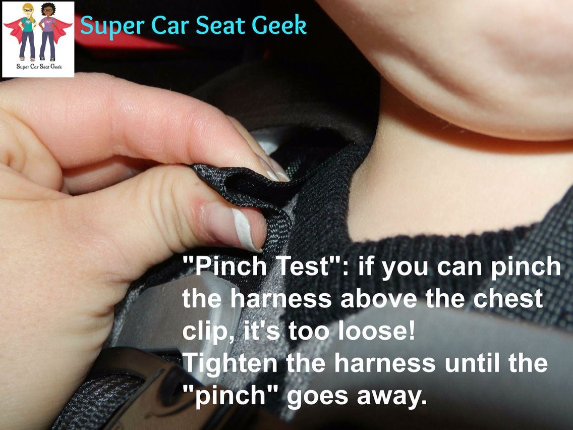 Pinch Test Car Seats Safety Security Guard