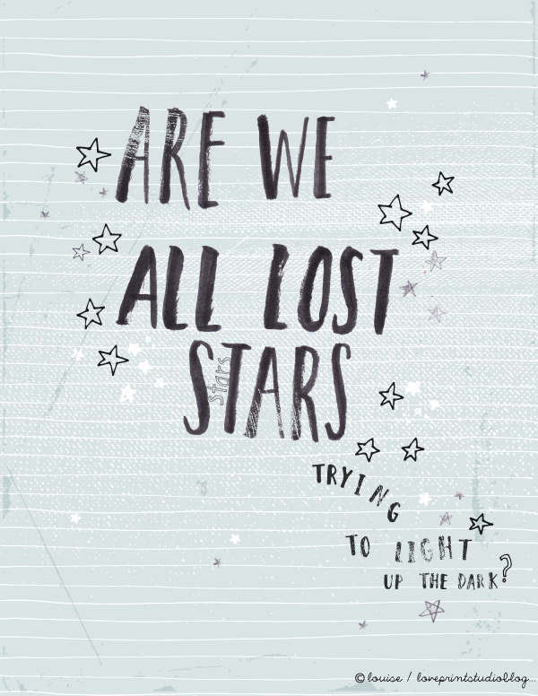 Lost Stars Lyrics Is Simplyt He Perfect Song