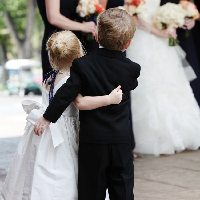 Cute Flower Girl & Ring Bearer Attire // photo by: Jenna Walker Photography //  Location: Denver Country Club