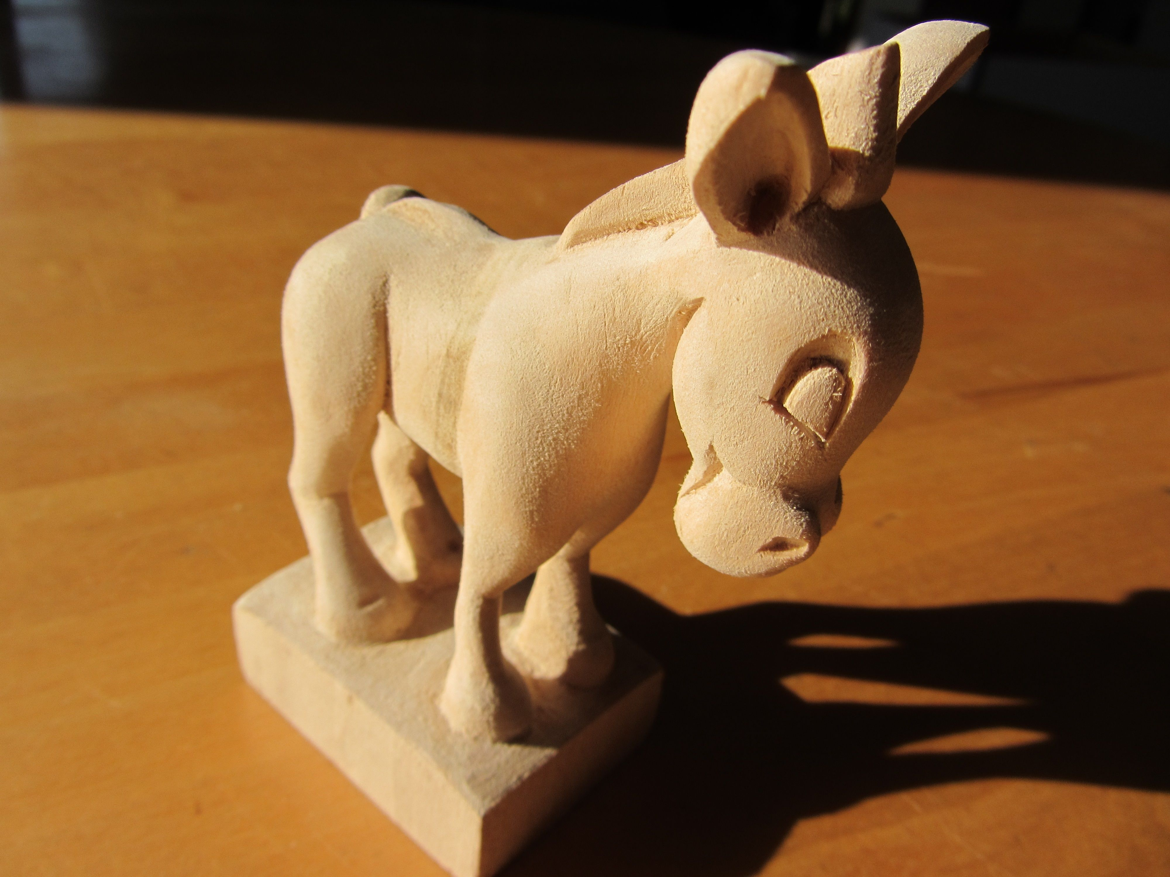 Whittled with a single carving knife Животные pinterest