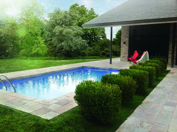 Borde de piscina creado con las cuarcitas de villafranca for Piscina villafranca
