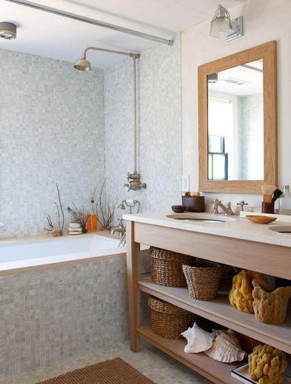 Beach Style Bathroom By Rosenberg Kolb Architects Stil