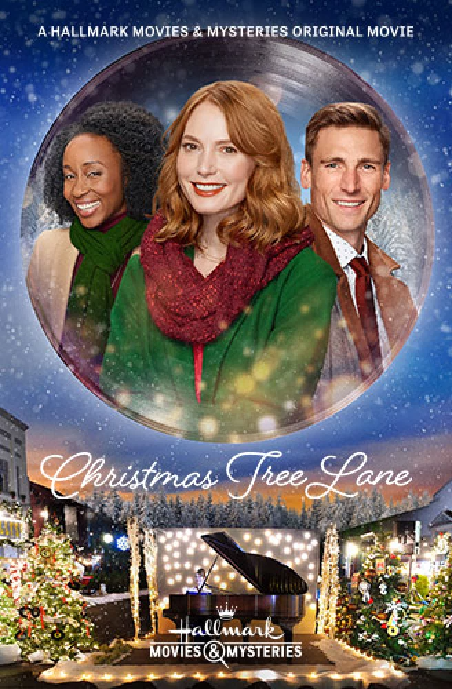 Christmas Tree Lane 2020 With Alicia Witt Andrew Walker In 2020 Hallmark Movies Christmas Movies Movies