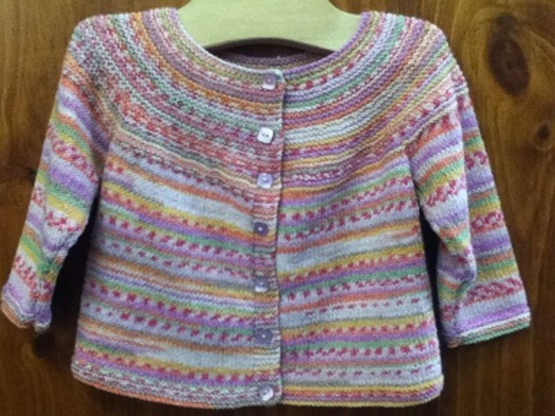 Easy All In One Cardigan Pdf Knitting Pinterest Patchwork