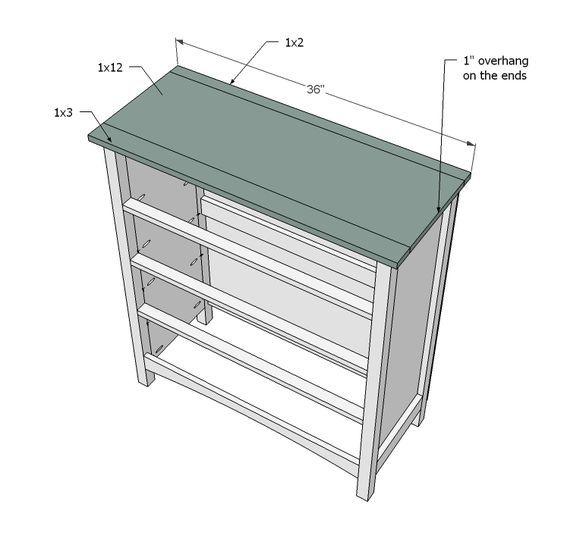 Dresser Plans Via Http Www Ana White Since