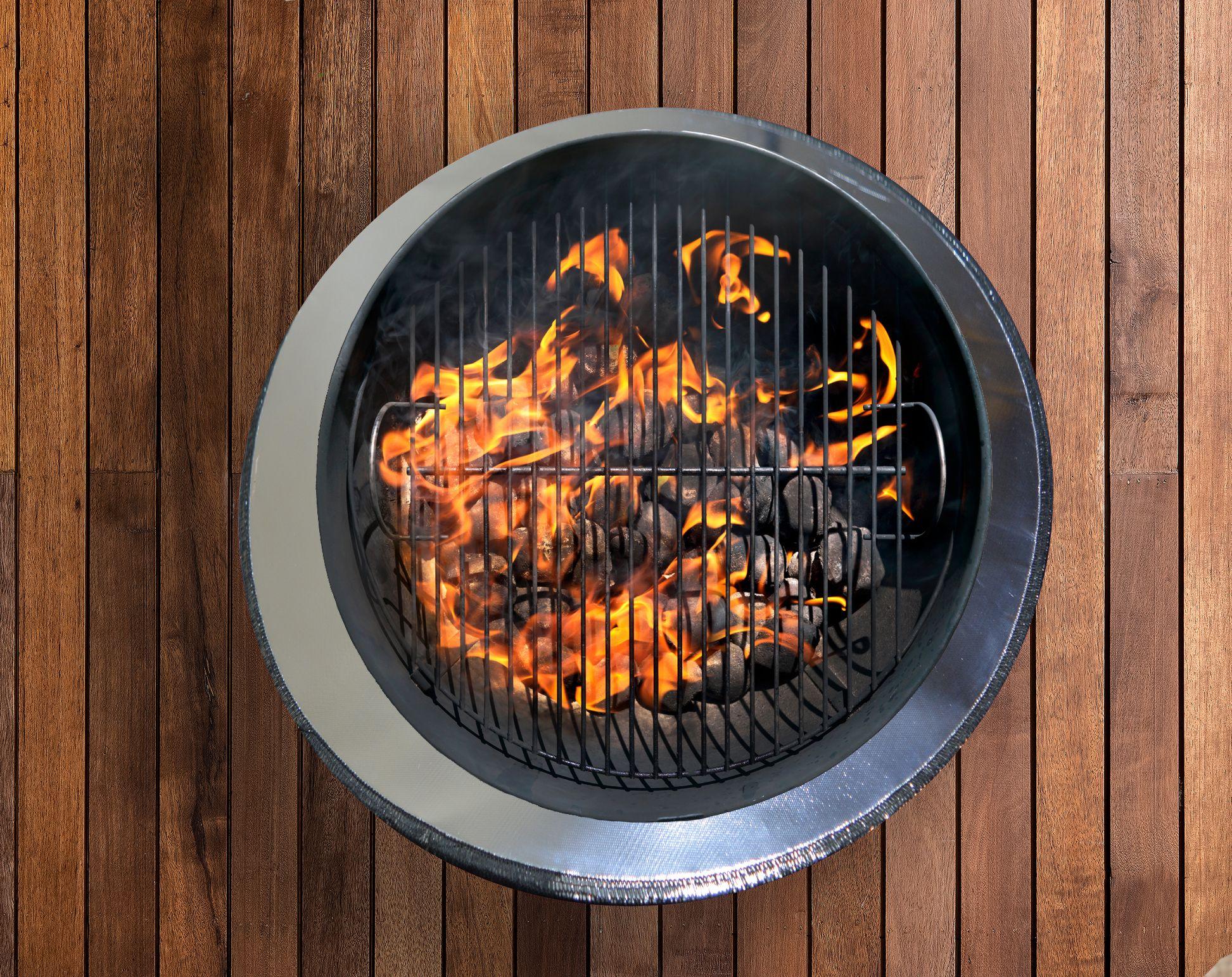 Firepad Deck Protector Fire Pit Outdoor Fire Pit Mat