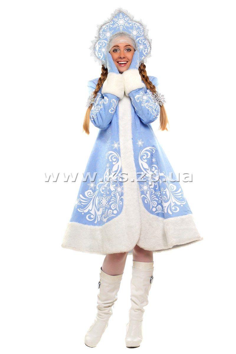 Сшить костюм снегурочки своими руками взрослый