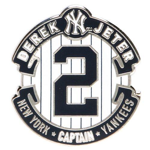 New York Yankees Derek Jeter Retirement Logo Pin By Aminco International Mlb Com Shop New York Yankees Baseball Derek Jeter Yankees