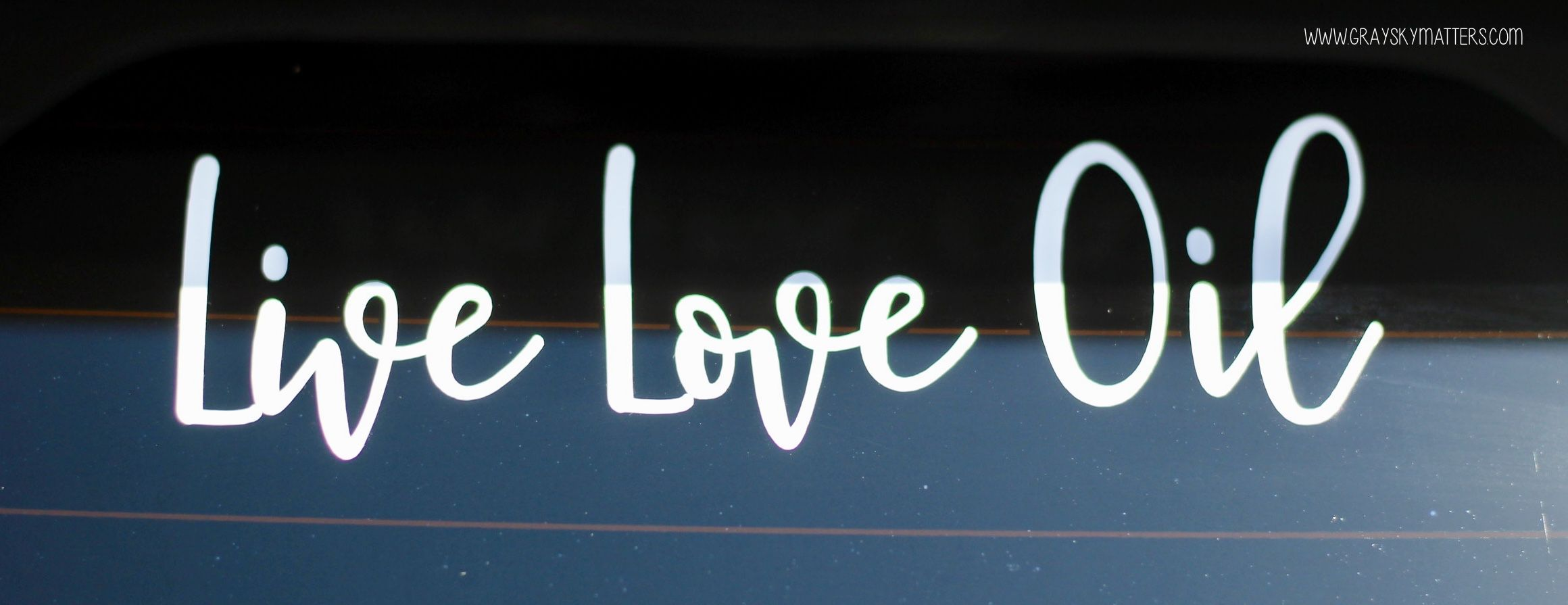 Vinyl Decal Young Living Essential Oils