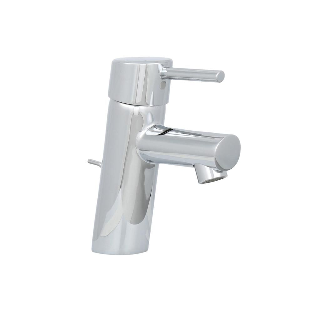 GROHE Concetto 4 in. Centerset Single Handle Bathroom Faucet in ...