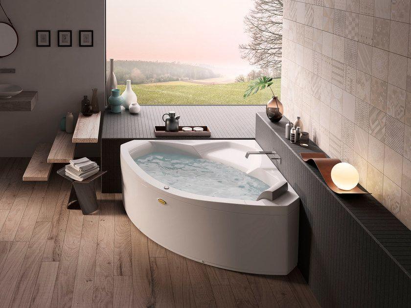 corner whirlpool bathtub the essentials 130x130 by