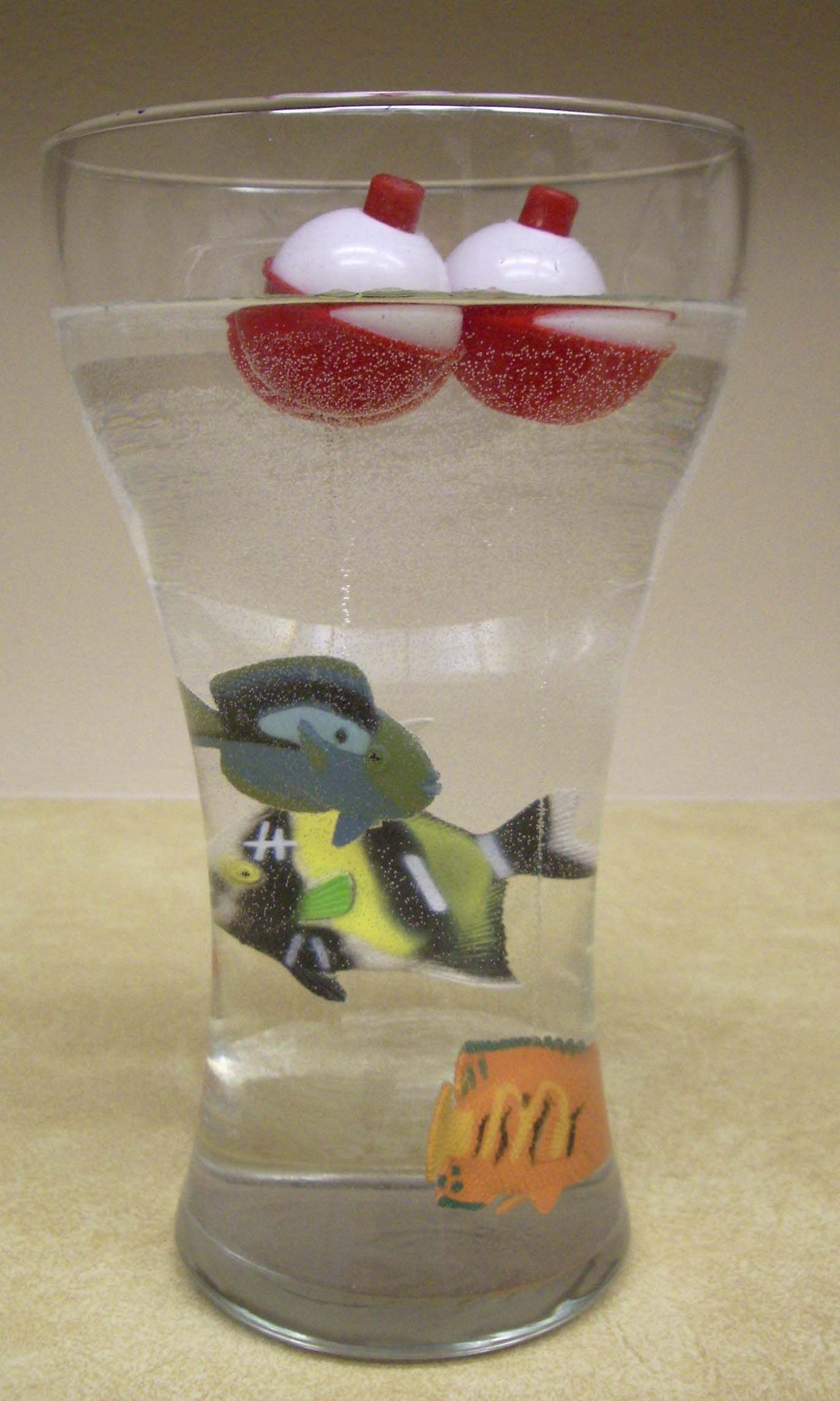 Fish Bobber Centerpiece  Add A Fishing Pole (Stick Or