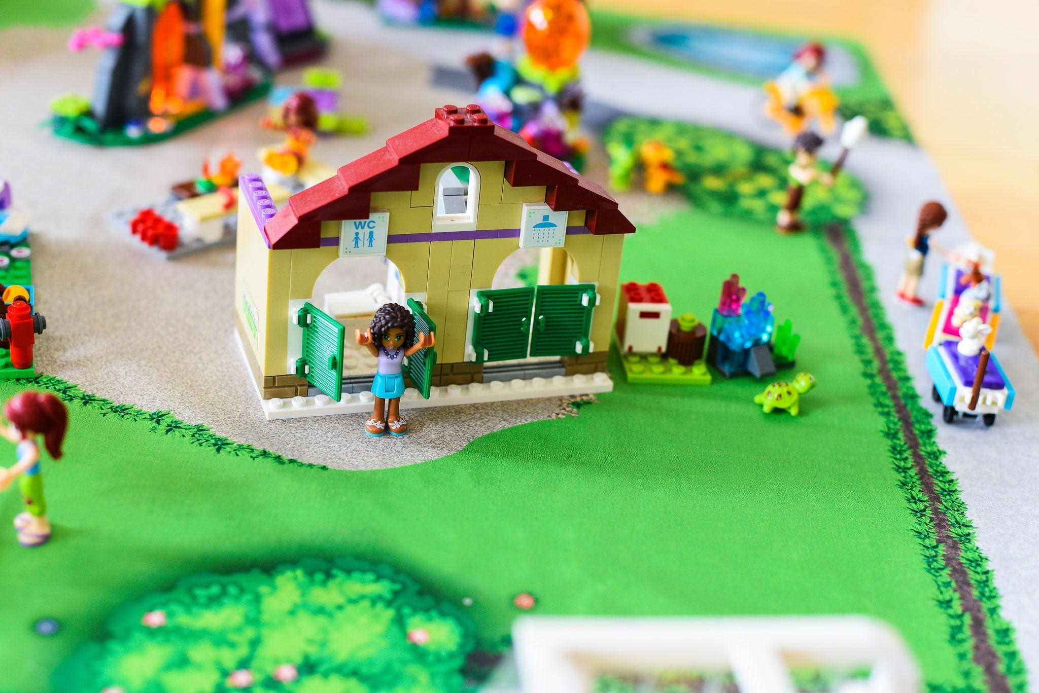 Spiel Matte Spiel Mattech Lego Friends Lego Und Playmobil