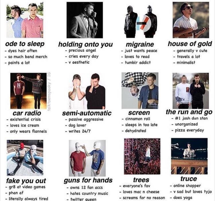 Lyric fake you out twenty one pilots lyrics : Migraine, Car Radio, ,Semi-Automatic, The Run And Go, and Fake You ...