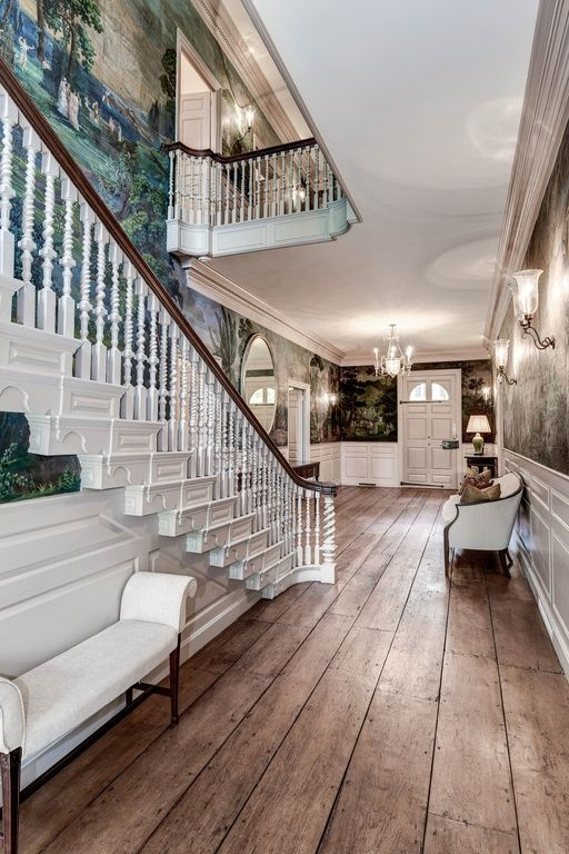 Stunning Colonial Manse In Dc Home Luxury Homes Classic House