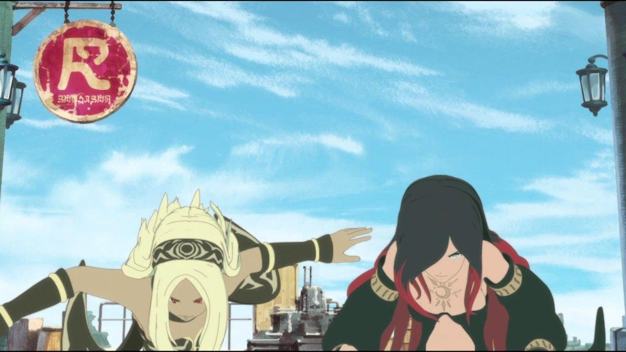 Wallpaper Anime Gravity Daze The Animation Ouverture