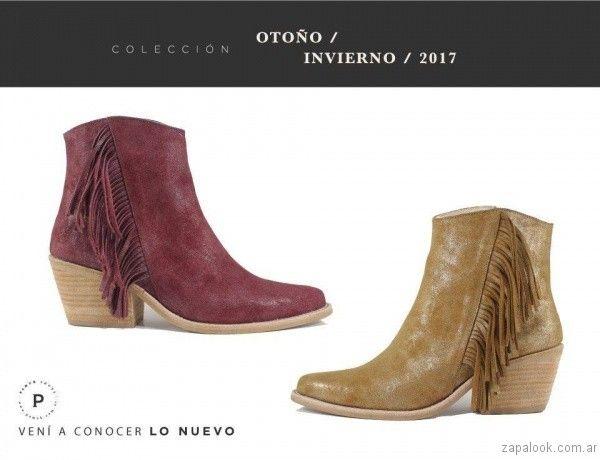 7e66e47298f botas en punta con flecos invierno 2017 pamuk Zapatos Otoño Invierno 2017