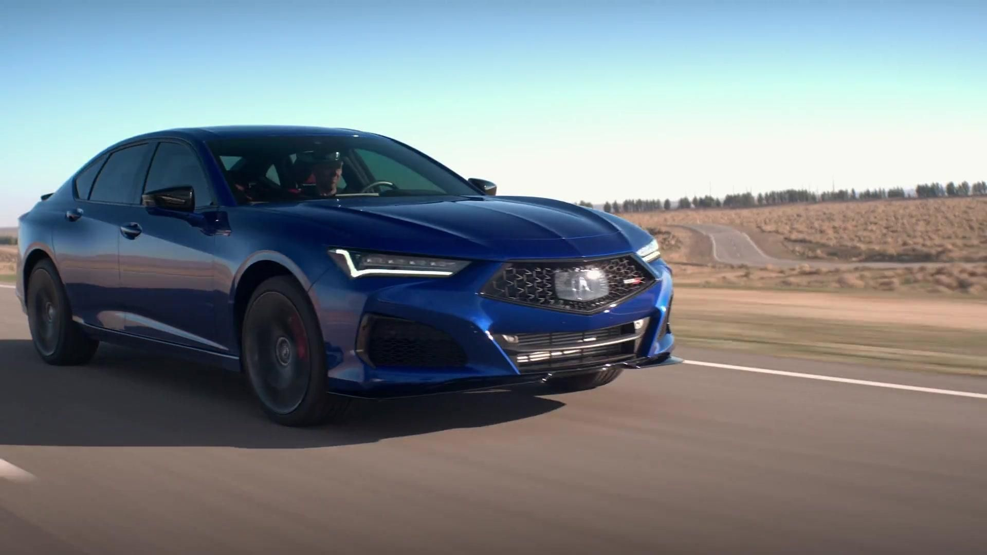 The All New 2021 Acura Tlx Type S Driving Video Acura Tlx Acura Nsx