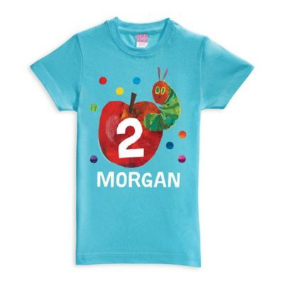 a3499b938 Eric Carle Very Hungry Caterpillar Birthday Size 14/16 Shirt In Blue ...